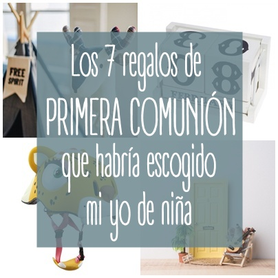 regalos comunion ideas