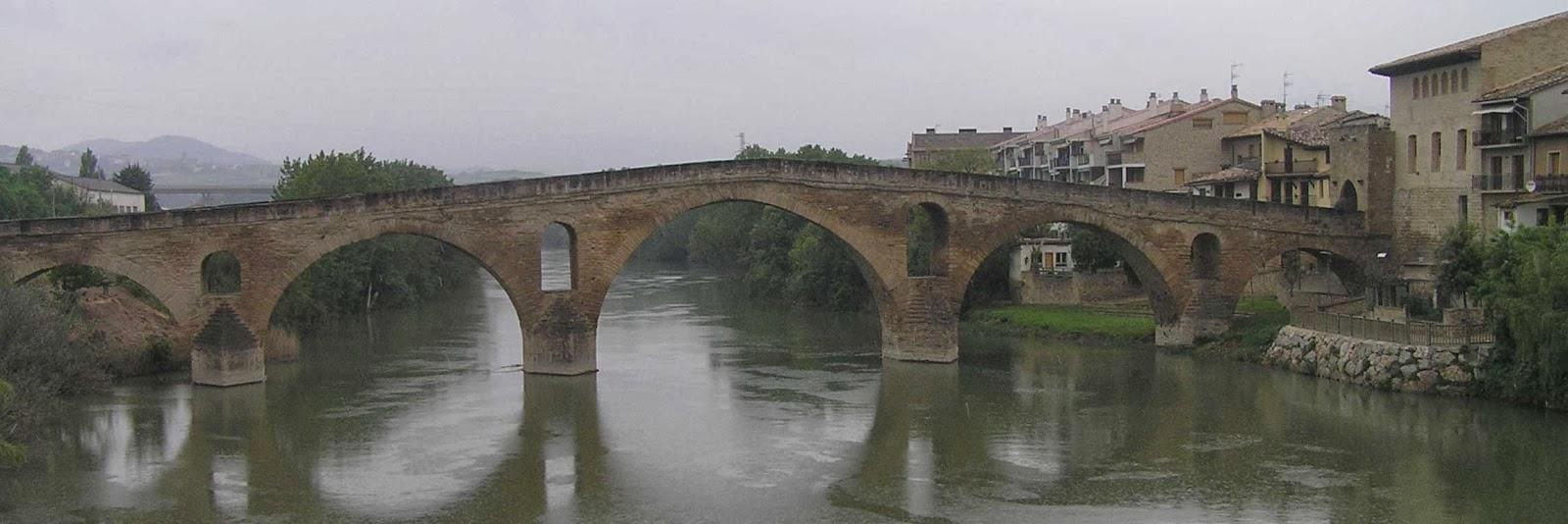 Puente de la Reina, Navarra.