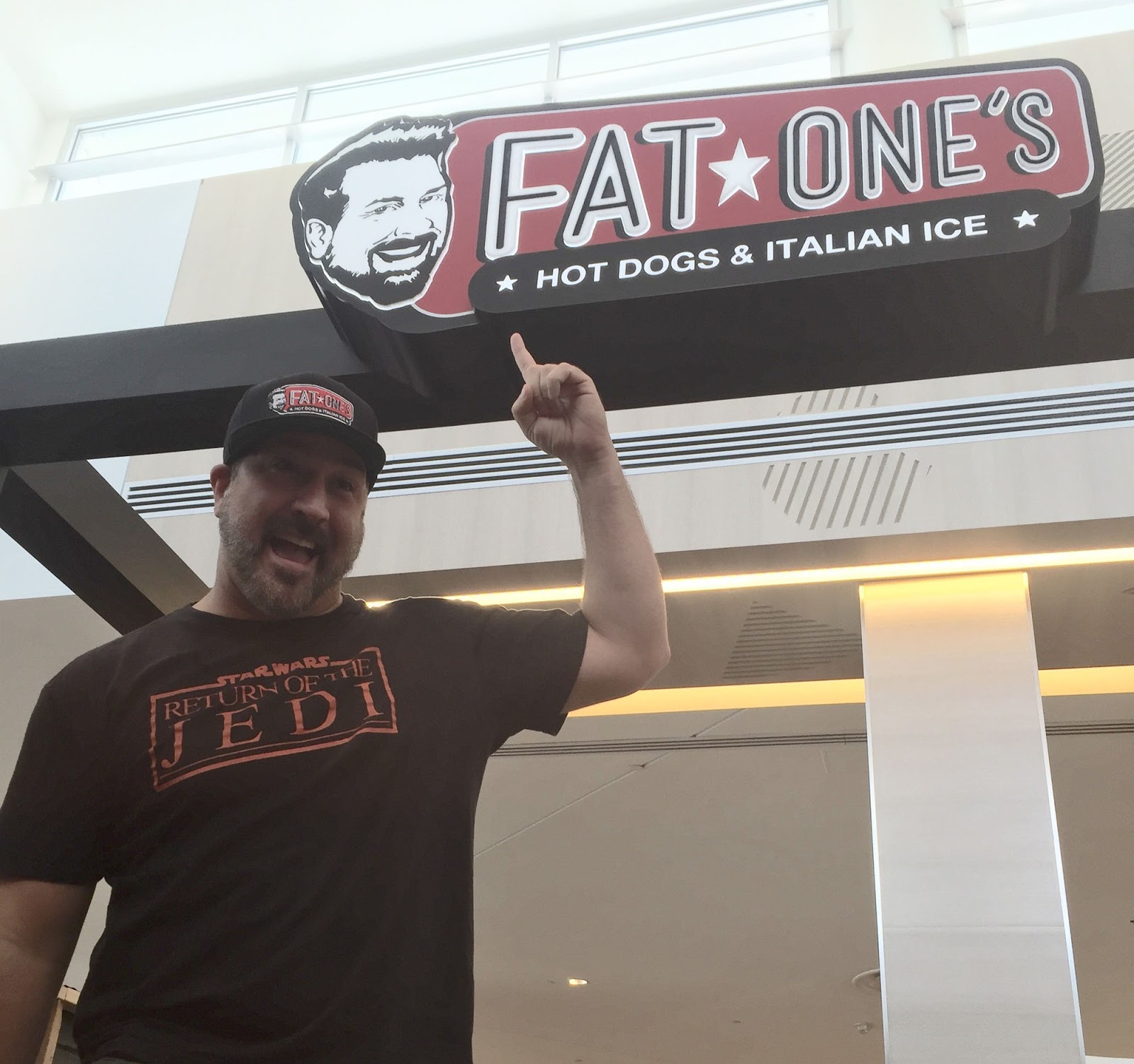 Fat one s the joey fatone hot dog stand at florida mall set to open