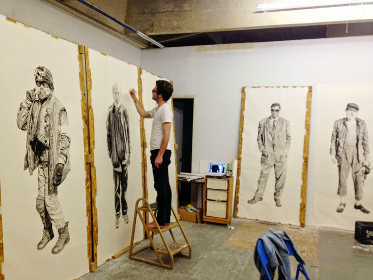 11-Me-Working-Joel-Daniel-Phillips-Drawings-of-forgotten-People-in-front-of-Us-www-designstack-co