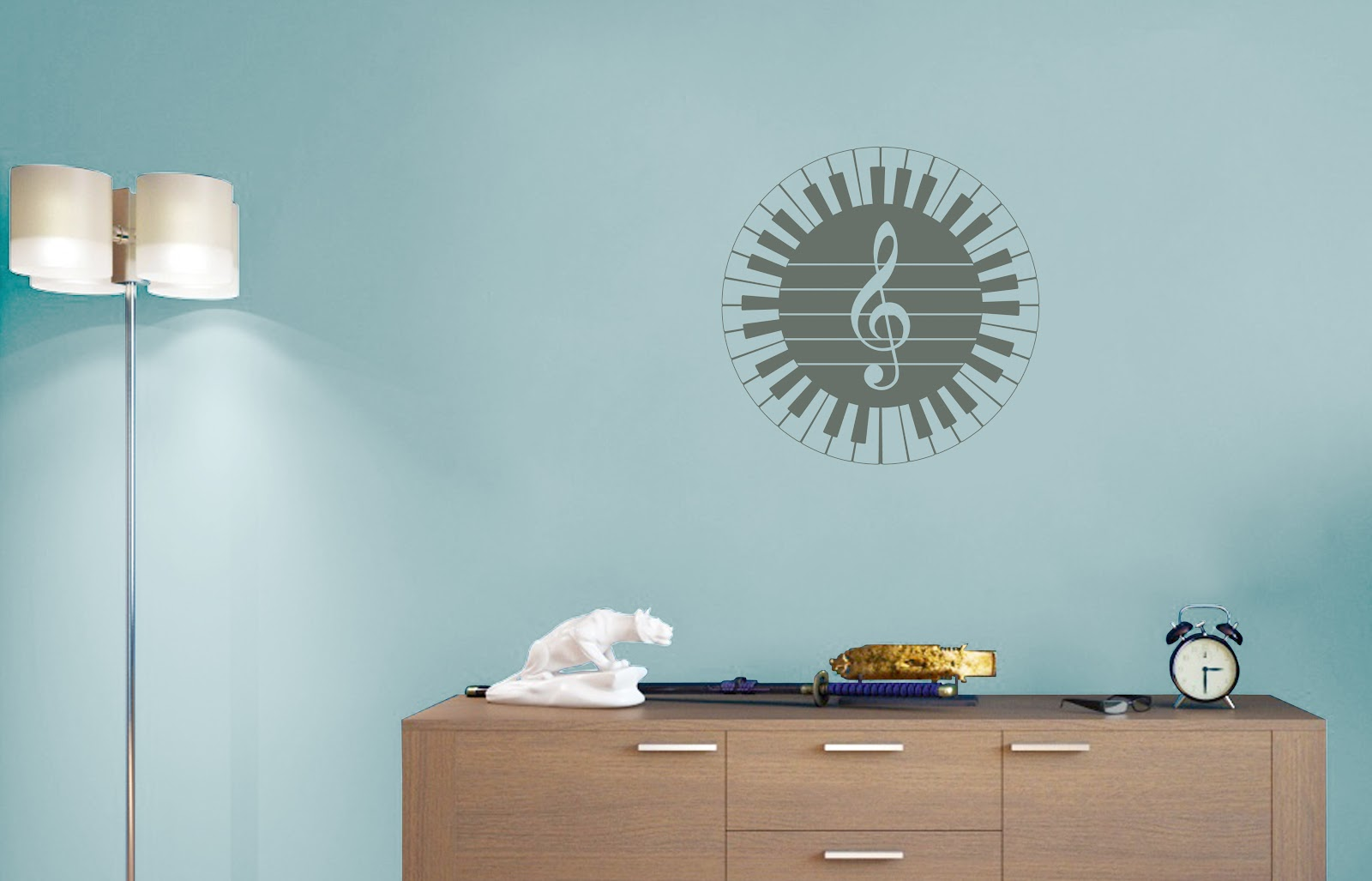 9 Music Inspired Wall Decals | Stickers Vinyl Wall Art - All Sign ...