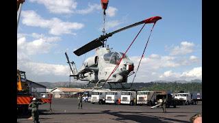 Helikopter AH-1S Cobra AU Filipina