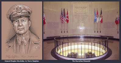 Douglas MacArthur, 33°. United States Army General. WWII. Freemason. by Travis Simpkins