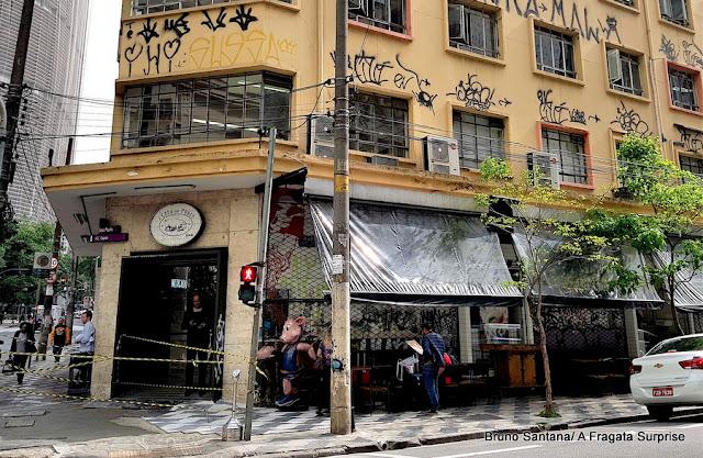 Fachada do restaurante A Casa do Porco, no Centro de São Paulo