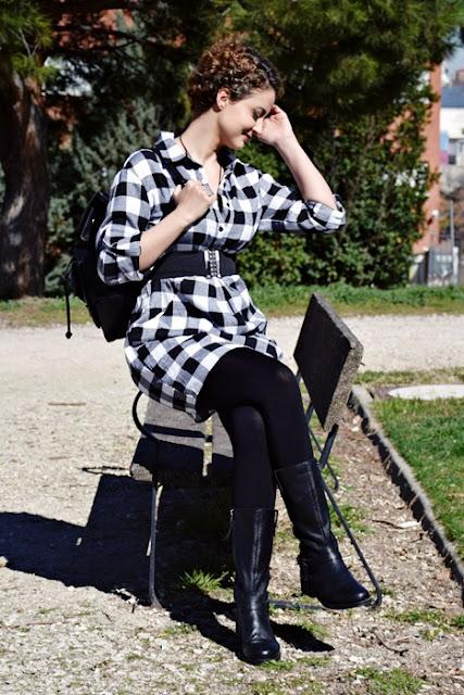 Outfit-Vestido-Camisero-cuadros-6