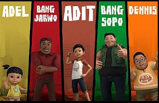 Gambar Animasi Sopo Jarwo