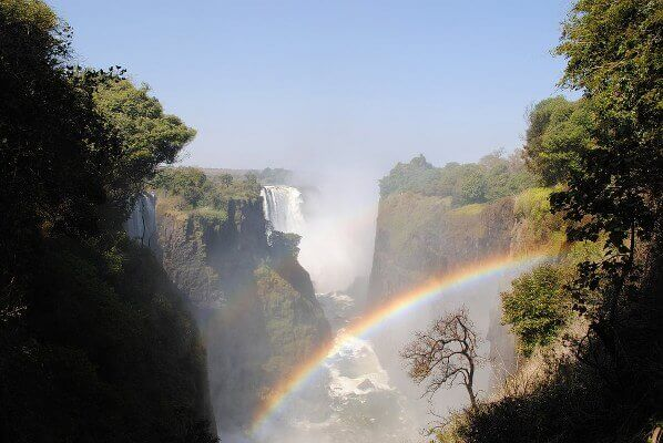 africa water falls