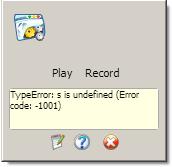 Конспект: IMacros – error code 1001