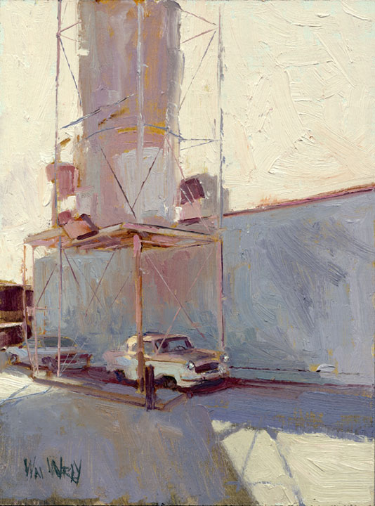 Doctor Ojiplático. William Wray. Urban Landscapes, Pintura | Paintig