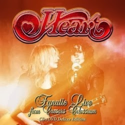 Heart  Fanatic Live From Caesars Colosseum CD/DVD