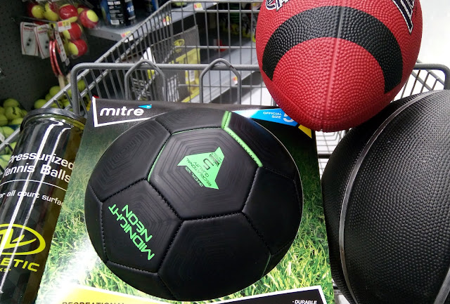 sports equipment at walmart