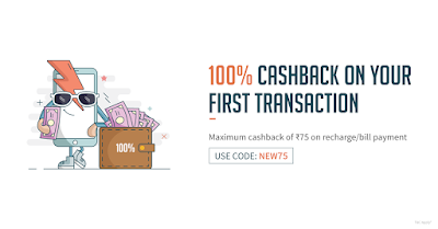 Get 100% Cash Back on freecharge