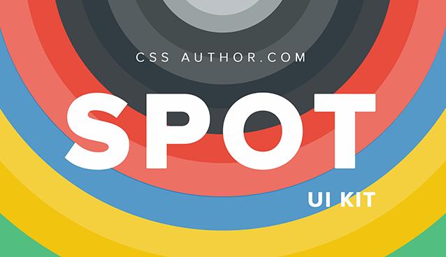 Spot UI Kit PSD