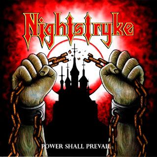 "Nightstryke - ""Mist in the Valley"" (audio) from the album ""Power Shall Prevail"""