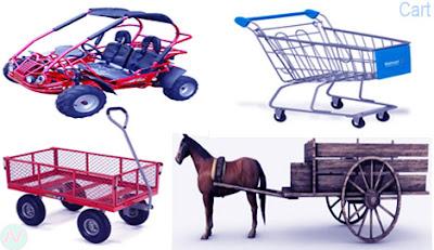Cart, গরু বা ঘোড়া গাড়ি