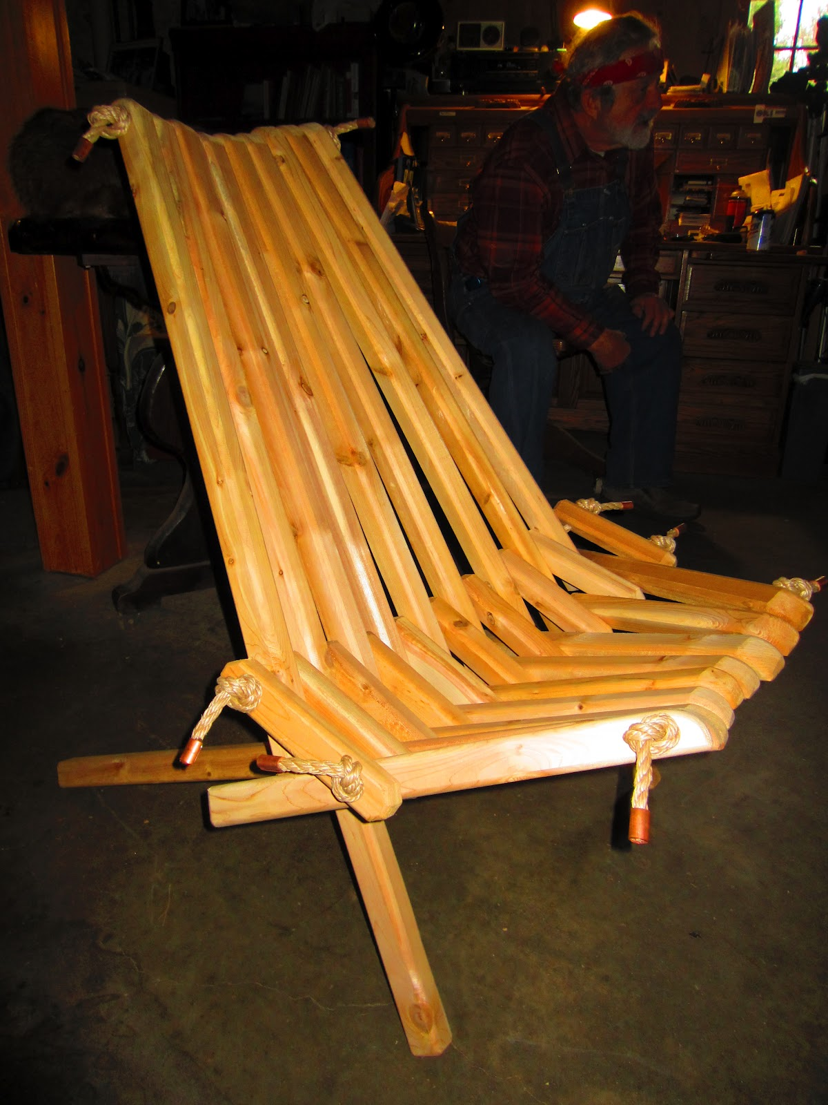 Relaxshacks Com Super Simple Folding Adirondack Chair For