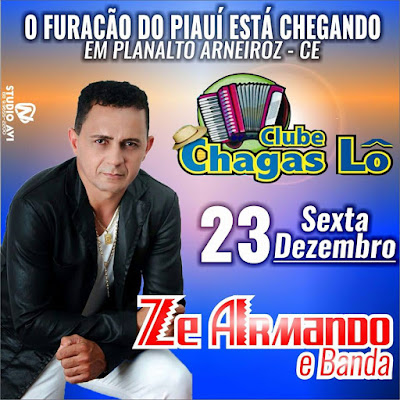 Clube Chagas Lô, em Planalto - Arneiroz, Apresenta.