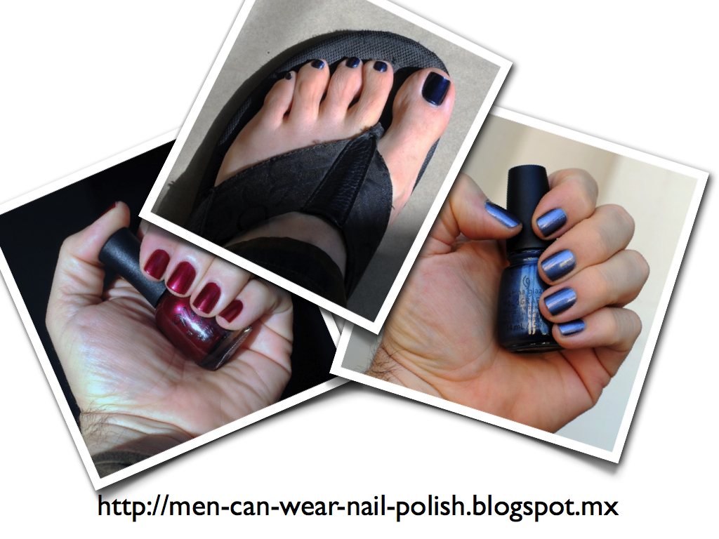 Men Can Wear Nail Polish What Is The Identity Of A Man Who Wears Nail Polish