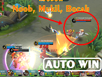 Auto Win! Trik Rahasia Supaya Dapet Musuh Noob Mobile Legends