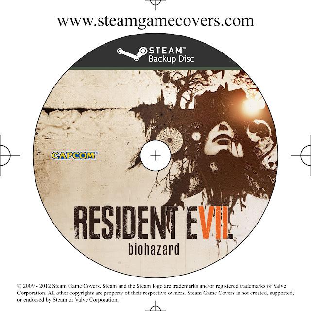 Label Resident Evil 7 PC Steam
