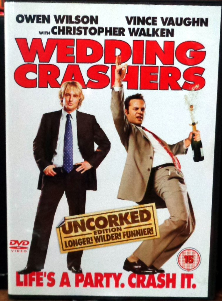 Movies On Dvd And Blu Ray Wedding Crashers 2005