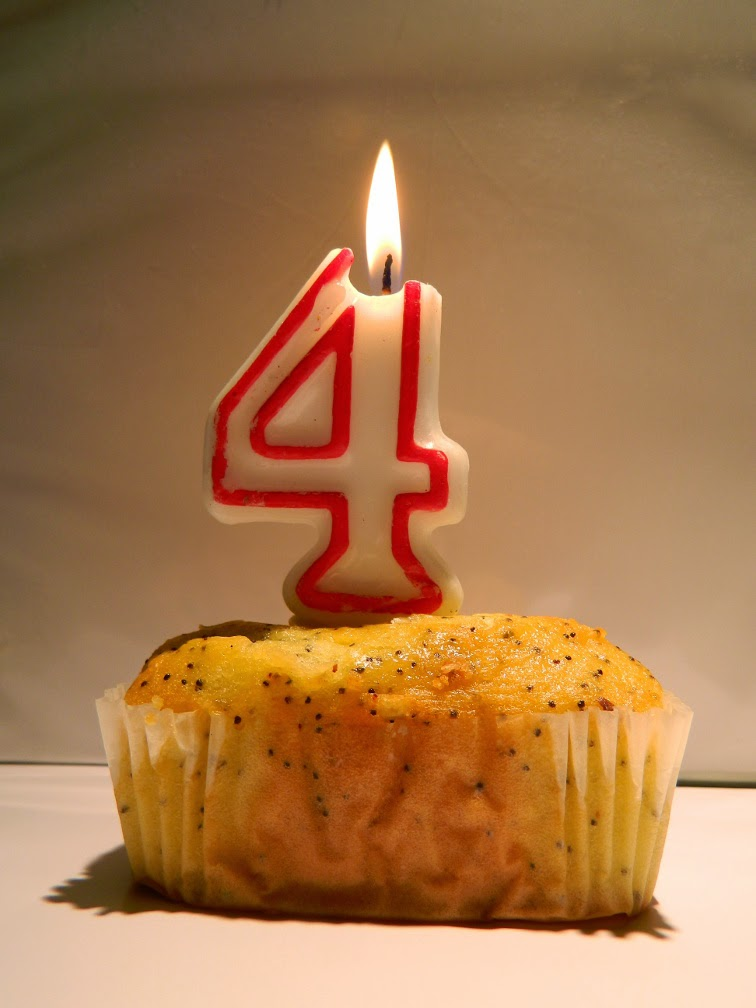 Fourth birthday lemon loaf by garden muses-not another Toronto gardening blog
