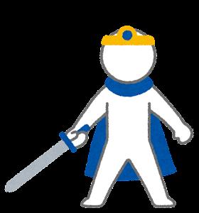 RPGのキャラクターのイラスト(勇者)