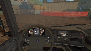 New Scania R speed indicator