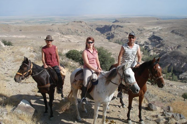 Kapadokyada Atlı safari