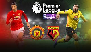 موعد مباراة مانشستر يونايتد وواتفورد Manchester United vs Watford اليوم الثلاثاء 28/11/2017 في الدوري الانجليزي