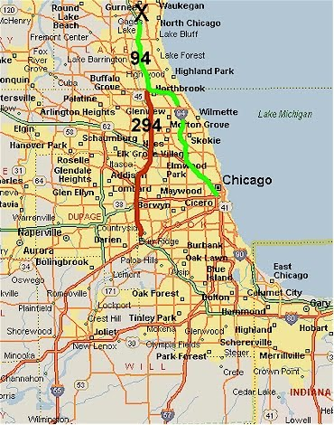 Map Of Chicago And Surrounding Cities | Map cosmictheater
