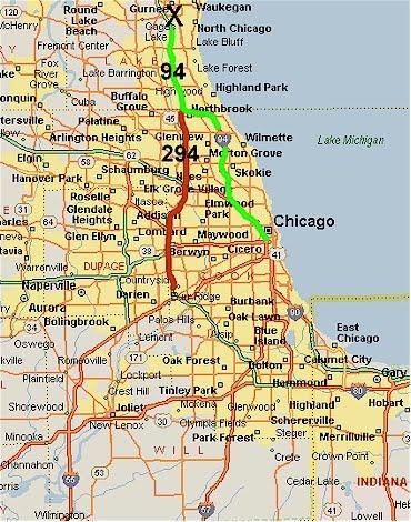 Download ePub PDF Book Libs » map chicago area