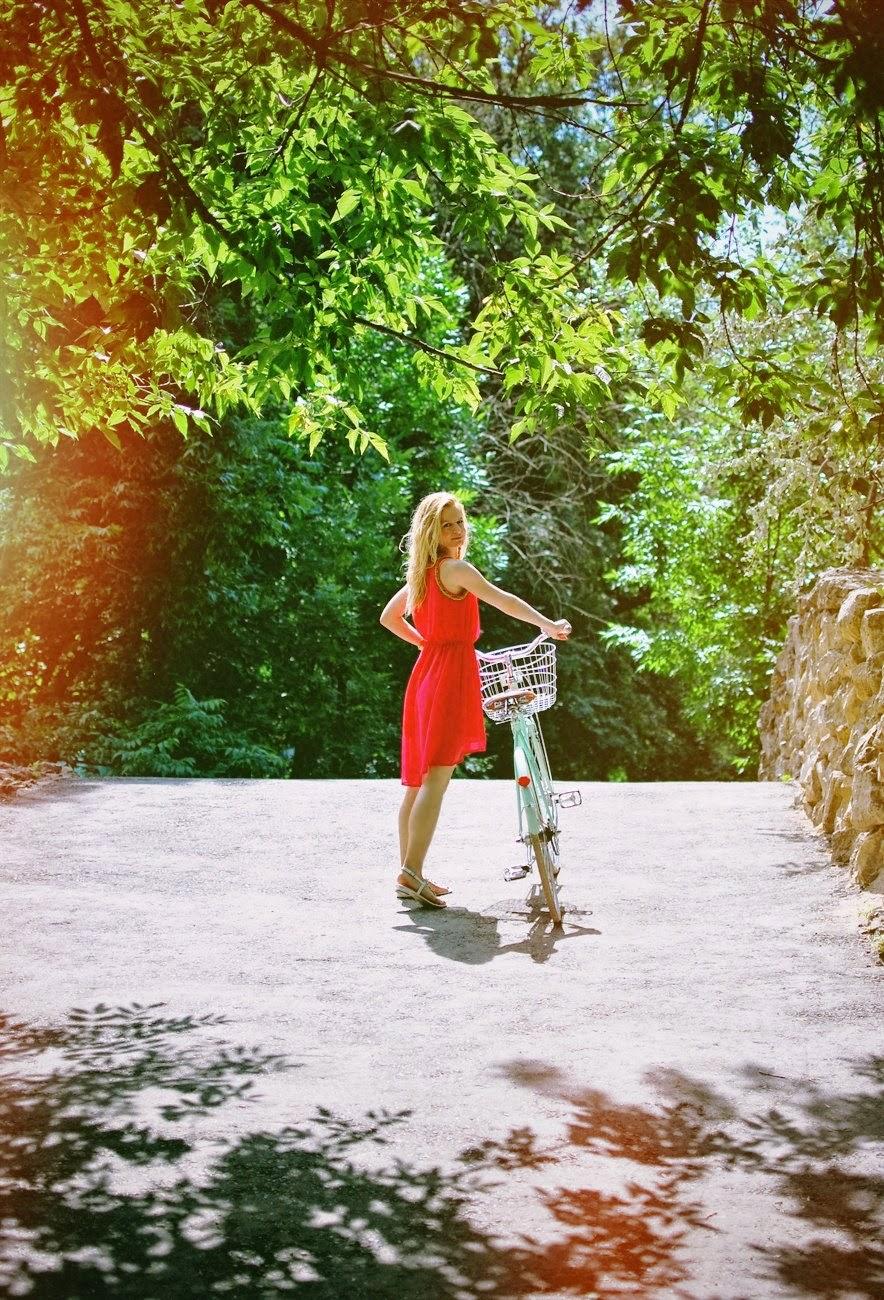 летний лук, модный лук, модные фото, модные блоггеры, fashion blog, summer look, bicycle look, bicycle photo