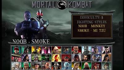تحميل لعبة مورتال كومبات Mortal Kombat PSP للاندرويد