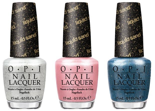 Smartologie Opi Bond Girls Liquid Sand Nail Polish Collection Summer 2013