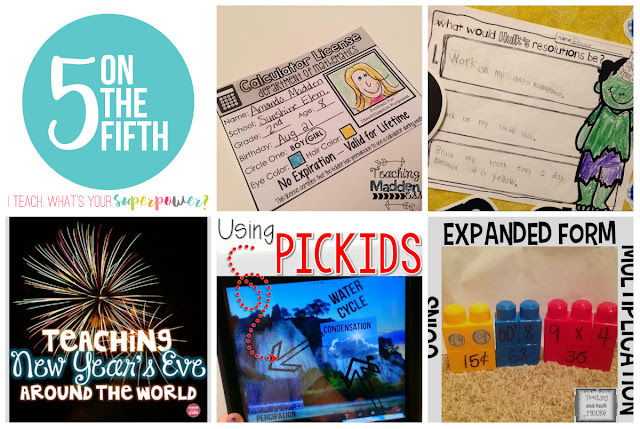 Five on the Fifth January 2016