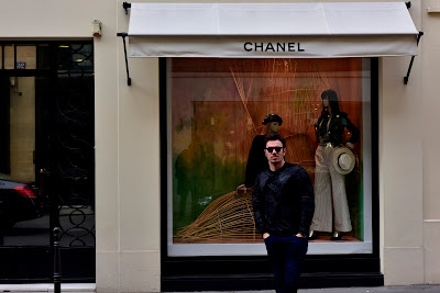 Yuri Graneiro na Maison Chanel