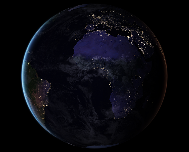 Earth at Night: Africa and Europe