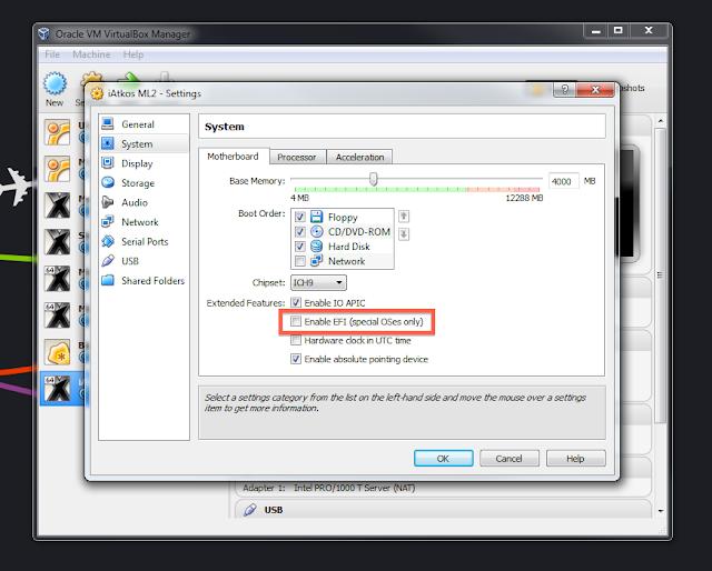 How to install OS X Mavericks in Virtualbox with Niresh - os