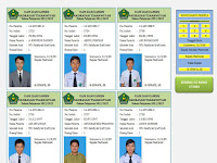 Aplikasi Cetak Kartu Ujian Siswa dilengkap Foto