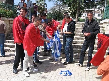 Image result for Ανθέλληνες οι Αλβανοί