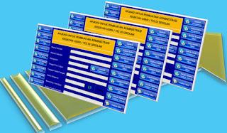 Aplikasi Perlengkapan Administrasi Ujian UTS UAS UN US UM Format Excel