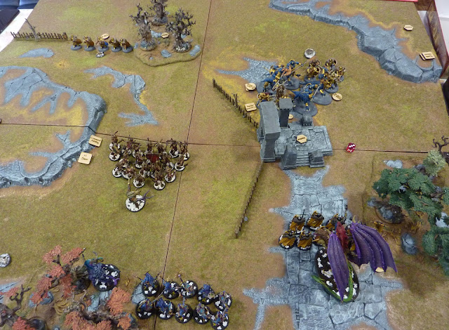 "Age of Sigmar Battle Report: ""Blood And Glory"" - Disciples of Tzeentch vs Stormcast Eternals."