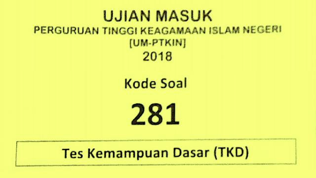 Kumpulan Latihan Soal Um Ptkin Tahun 2019 2020 Sch Paperplane