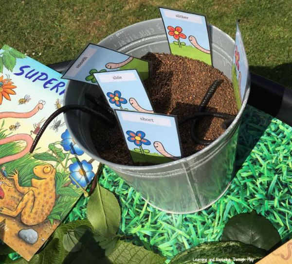 Worm Theme Activities - Gardening Topic for Early Years
