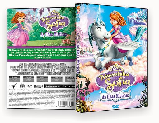 CAPA DVD – Princesinha Sofia As lhas Misticas – ISO
