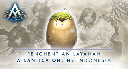Layanan Atlantica Online Indonesia Milik Gemscool Ditutup