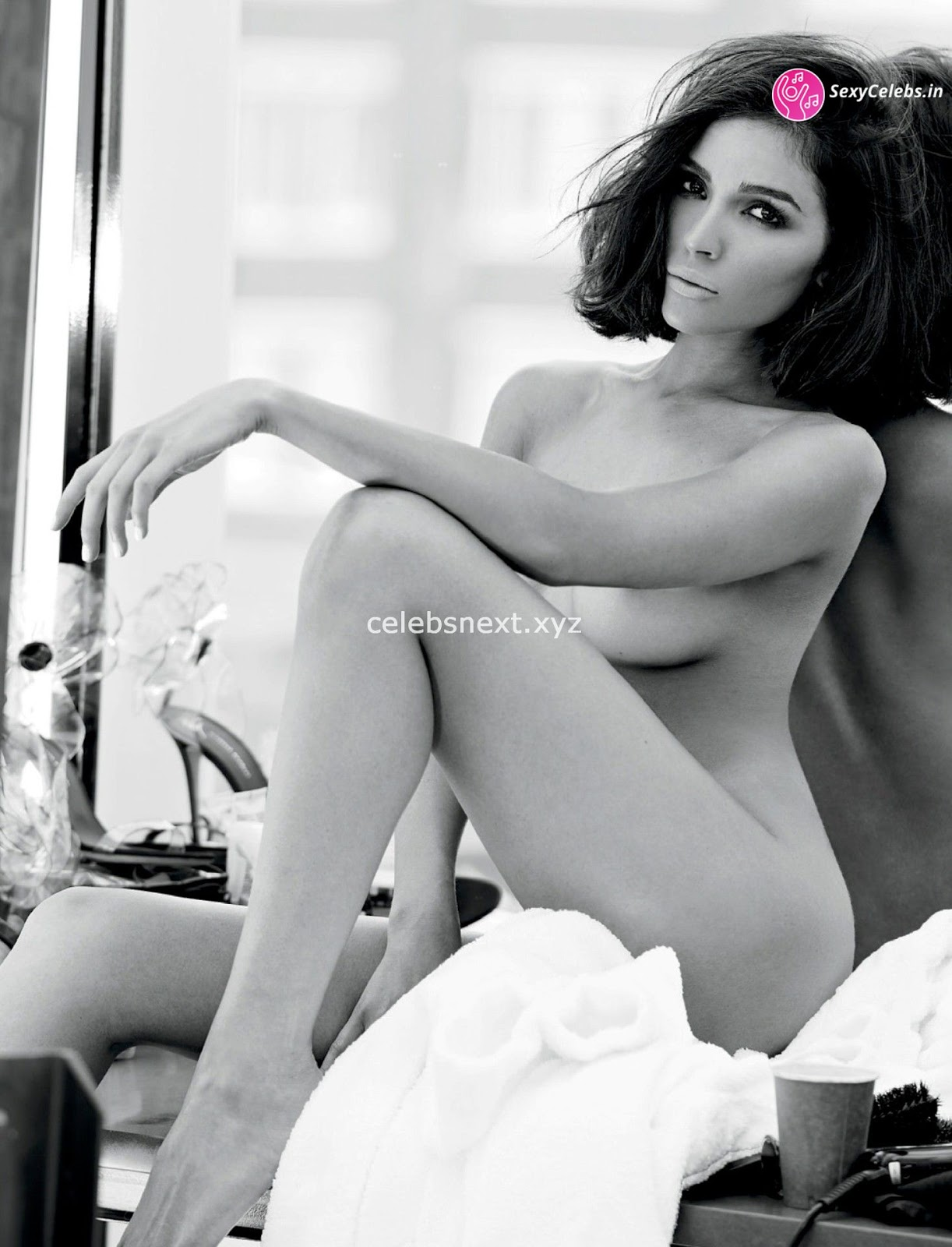 Olivia Culpo sexy nude ass in beautiful artistic nudes black and white huge Ass SexyCelebs.in