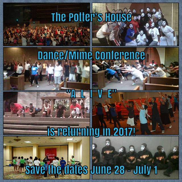JUNE 28 to JULY 1, 2017 ~ Dallas, Texas   Praise Dance