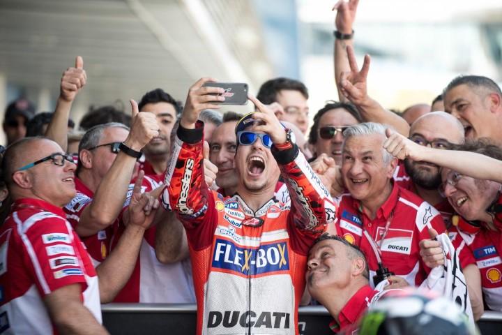 MotoGP 2017 : Komentar Lorenzo tentang podium pertamanya bersama Ducati di Jerez